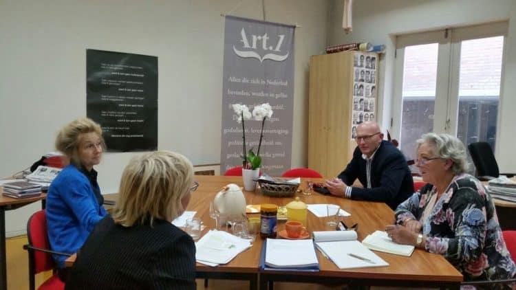 Werkbezoek Velsen Lokaal Bureau Discriminatie Kennemerland